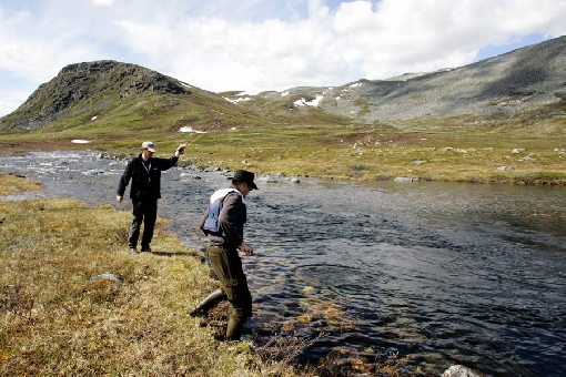 The rivers of Northwest Lapland are number one destinations for anglers in pursuit of big grayling.