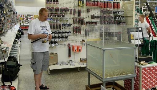 самый большой рыболовный магазин в спб