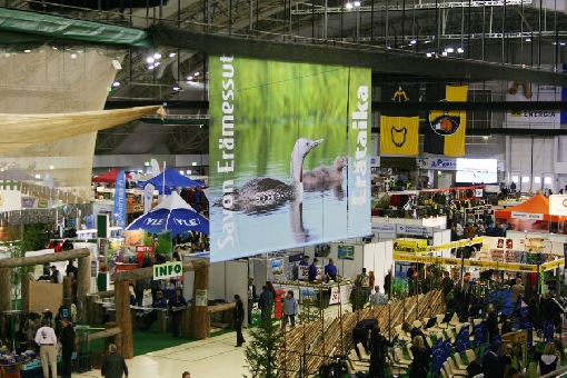 Kuopio hosts the Savo Wilderness Fair every other year.