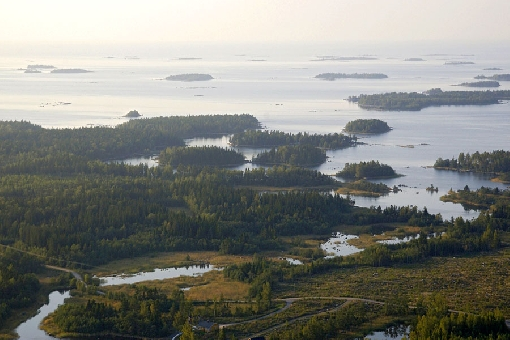 Archipelagos and rivers are the most significant fishing grounds on the West Coast. Mustasaari Island in the Kvarken in the Gulf of Bothnia.