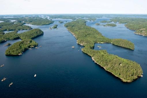 Lake Pihlajavesi, Savonlinna.
